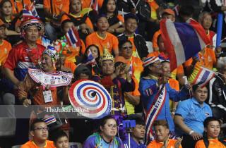 BASKET ASIAN PARA GAMES 2018 - Pendukung Tim Thailand