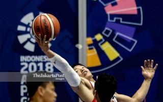 Basket Kursi Roda Asian Para Games 2018_Indonesia vs Malaysia