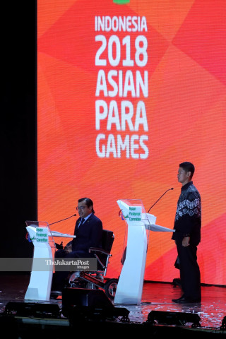 Closing Asian Para Games 2018