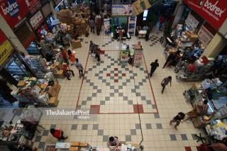 File: Isu Vaksin Palsu Tak Pengaruhi Pasar Pramuka