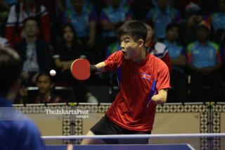 Tennis Meja Kim Yon Rok's Asian Para Games 2018