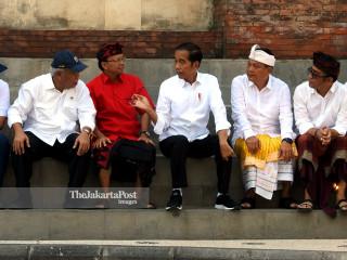 Jokowi in Denpasar
