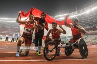 Para Atletik Asian Para Games 2018_Indonesia