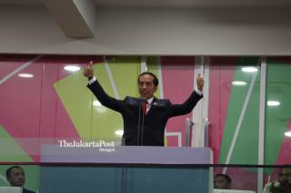 President Joko Widodo Paragames