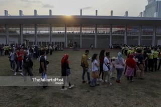 Closing Asian Para Games 2018_antre penonton