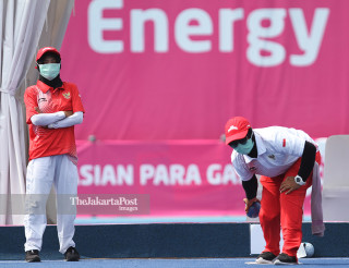 Atlet Lawn Bowl indonesia, Titin.