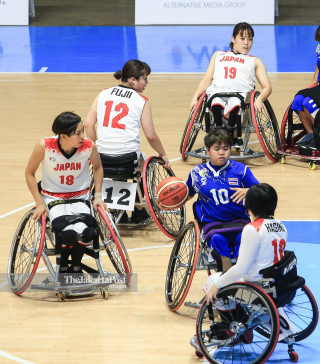 Basket Kursi Roda Asian Para Games 2018