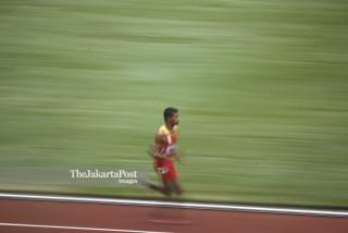 Para Atletik Putra 1500M T45/46 Asian Para Games 2018 Final_Timor Leste