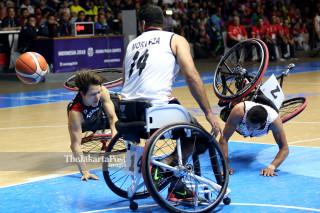 Basket Kursi Roda Asian Para Games 2018_Iran VS Jepang