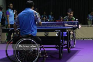 Babak Kualifikasi Tenis Meja Asian Para Games 2018
