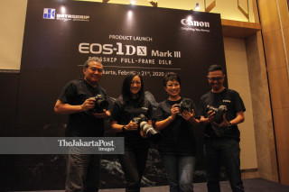 Product Launch EOS-1DX Mark III