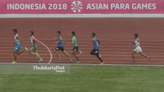 Para Atletik Putra 1500M T45/46 Asian Para Games 2018 Final_Uzbekistan