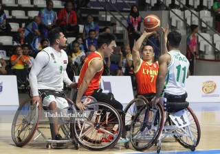 -Basket Kursi Roda - putra - China vs Iraq