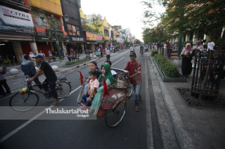 Malioboro free from car