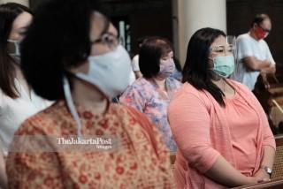 Misa di Gereja Katedral Jakarta