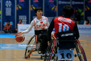 Basket Kursi Roda Asian Para Games 2018_ China vs Jepang