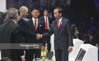 -Presiden Joko Widodo Hadir dalam Acara Pembukaan Asian Para Games 2018