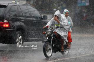 Rain in Lenteng Agung