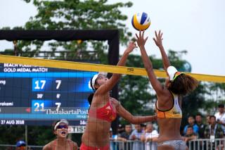 Asiad- Women Beach volleyball