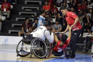 Asian Paragames 2018 wheel chair basketball