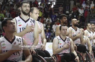 -Basket - putra - Indonesia vs Iran