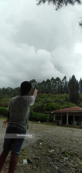 Mount Sinabung Eruption Update