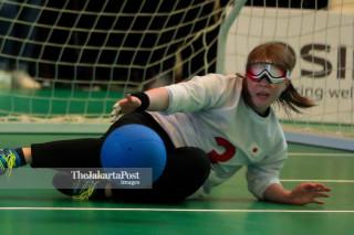 Goal Ball Asian Para Games 2018_Jepang