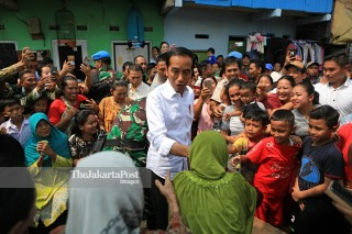 Pidato kemenangan Jokowi Amin
