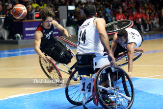 Basket Kursi Roda Final Asian Para Games 2018_Iran VS Jepang