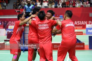 Badminton Putra Asian Paragames 2018_INA