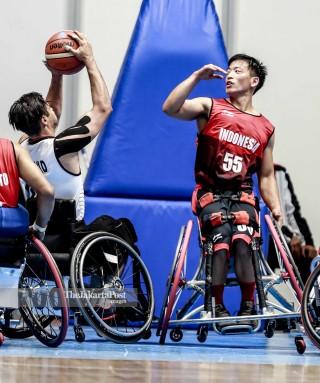 Basket putra Asian Para Games 2018_INA vs IRAN