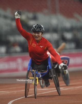 Para atletik Asian Para Games 2018_China