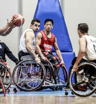 Basket putra Asian Para Games 2018