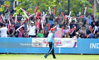 Suporter panahan tim Indonesia