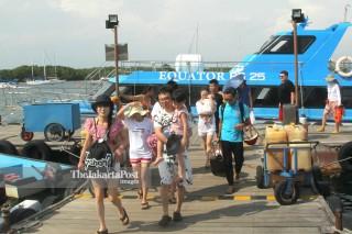 Wisatawan di Denpasar