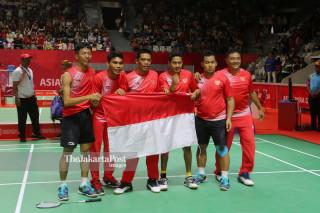 Badminton beregu putra Asian Para Games 2018