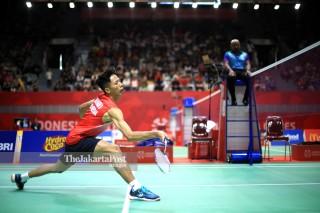 Final Badminton Beregu Putra Asian Para Games 2018