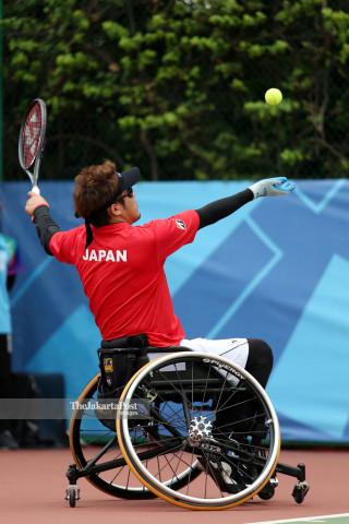 Tenis Kursi Roda Asian Para Games 2018_Jepang