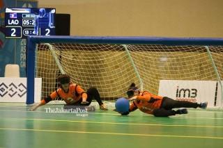 Goal Ball Asian Para Games 2018 - Putri - Laos vs Indonesia