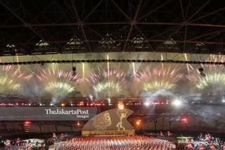 Pesta Kembang Api Pembukaan Asian Para Games 2018