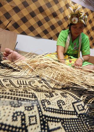 File: Pameran Anyaman Dayak Kalimantan di Bentara Budaya Jakarta