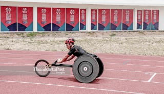 Atlit Korea Selatan berlatih jelang Asian Para Games